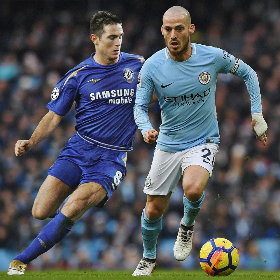 Two of the Premier League's greatest ever midfielders