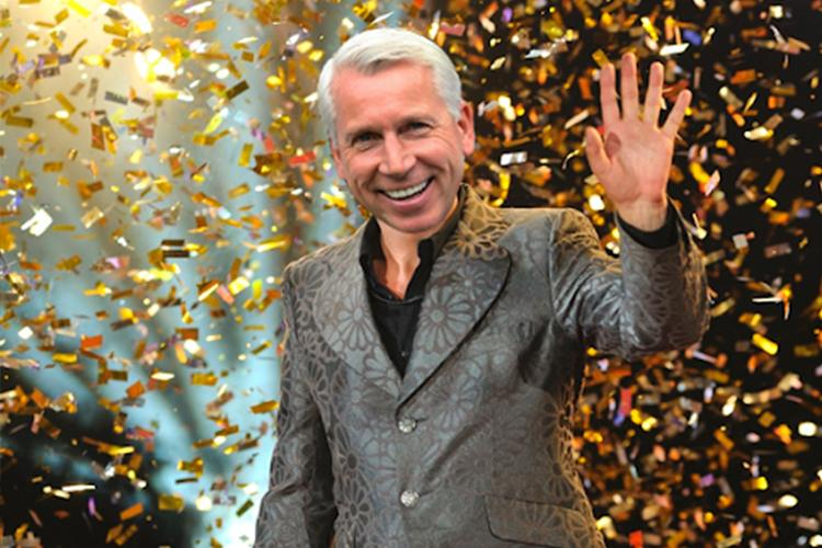 Pardew's entry outfit was widely praised