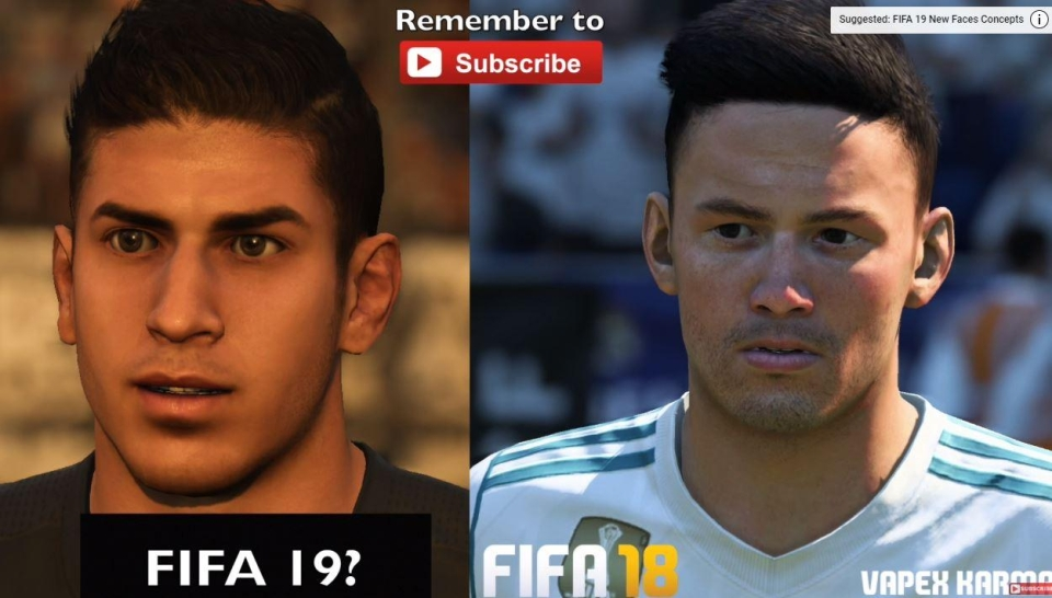 The modders have rebuilt the face entirely – and while not perfect, it's a lot, lot better