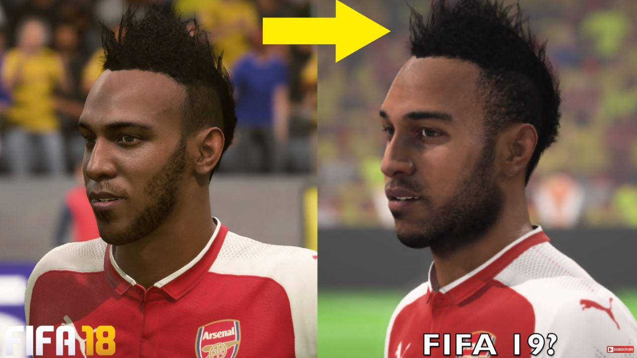 The Arsenal man looks more lifelike, thanks to an improved beard and hairstyle