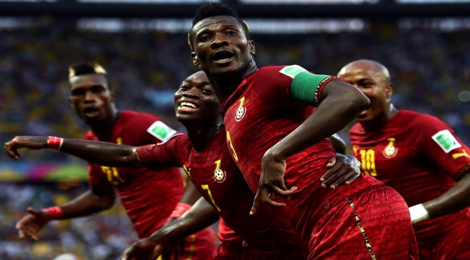 Despite getting to the quarter finals at the 2010 World Cup, Ghana are not on the game