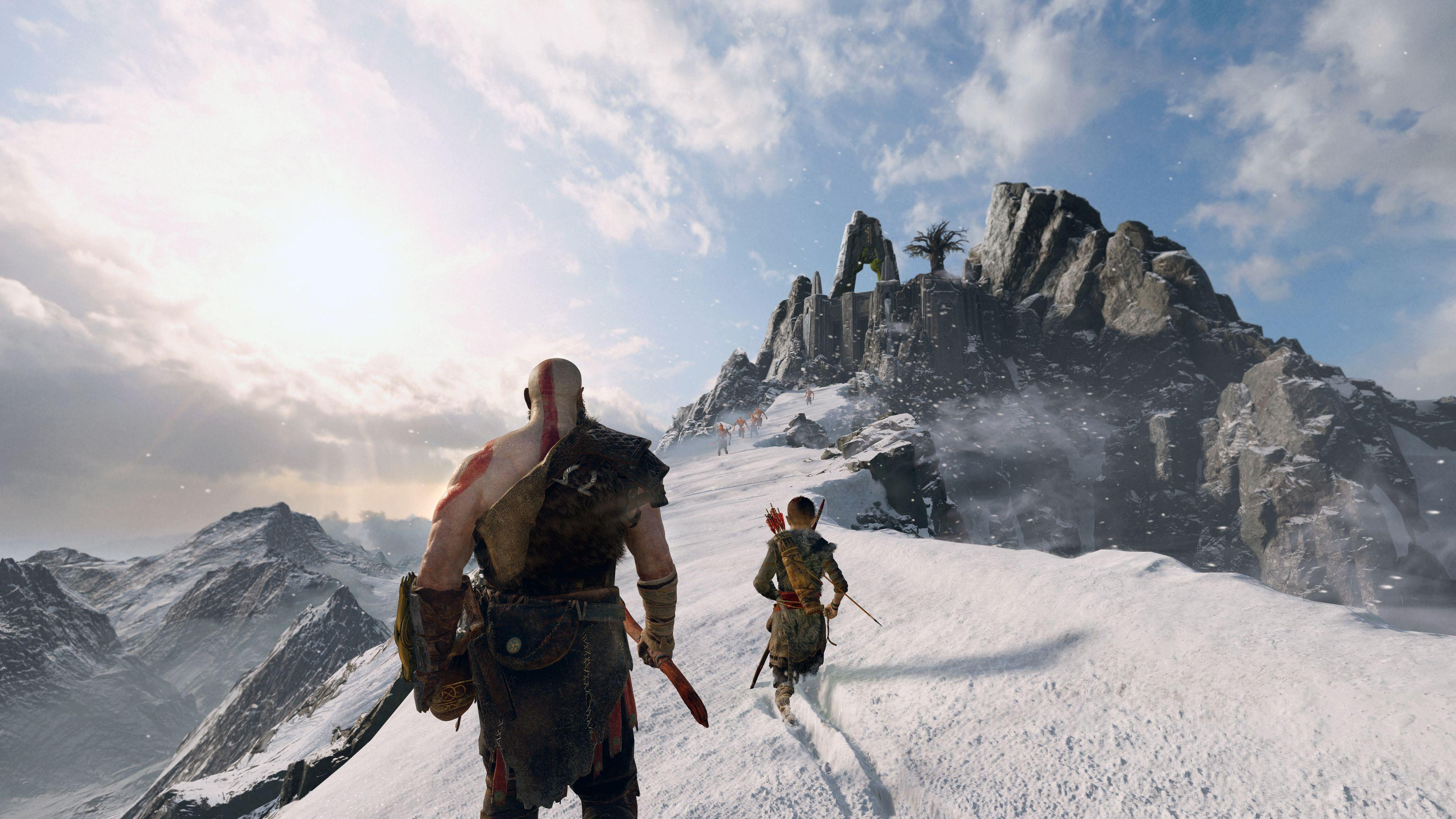 God of War pushes the PS4 to the limit