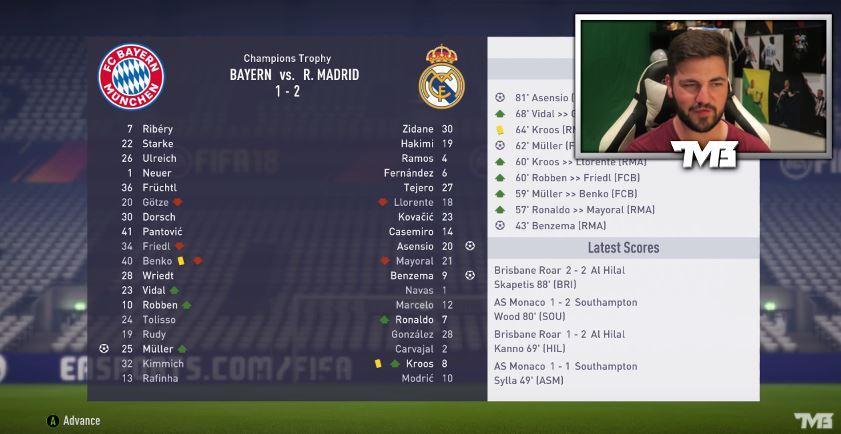 Bayern lose their first game