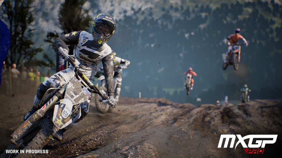 MXGP Pro is powered by Unreal 4 – and looks stunning