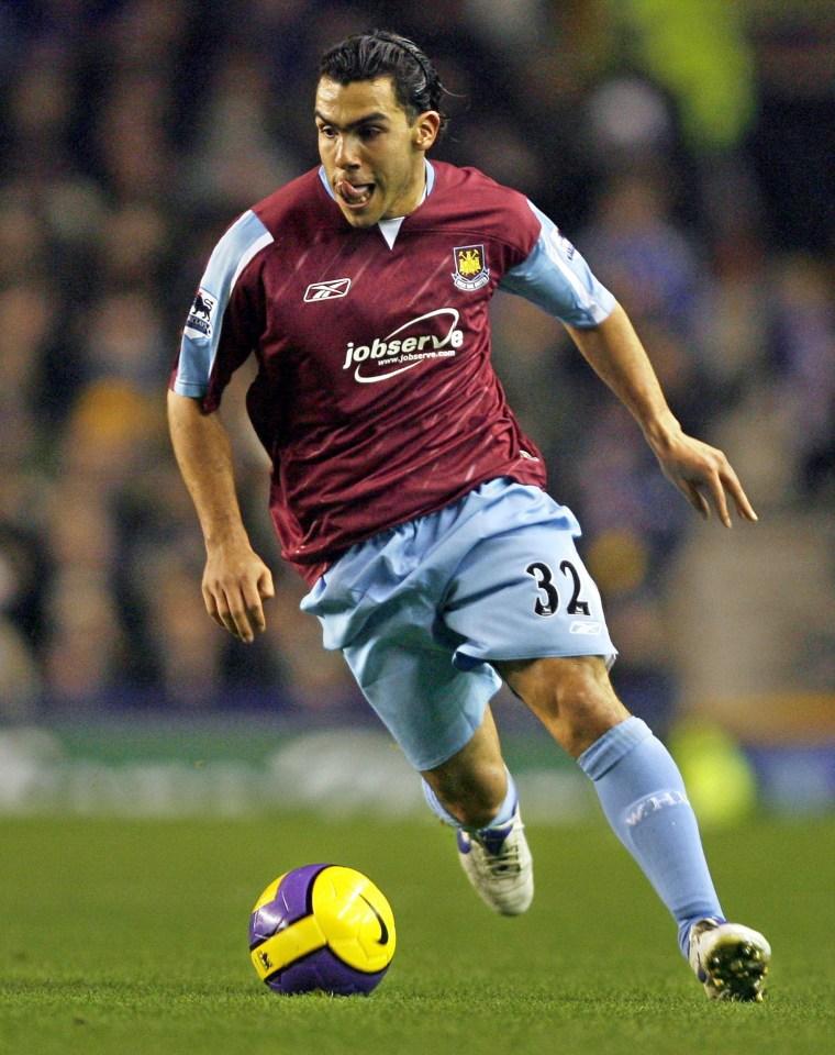 He literally scored seven goals for West Ham