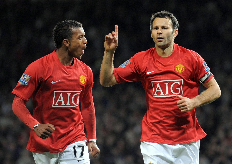 Giggs scored just twice all season