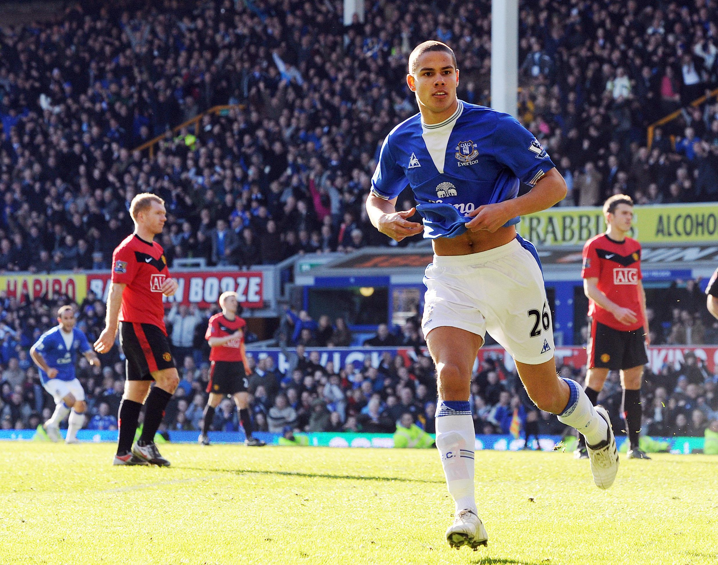 Rodwell was Everton's next darling