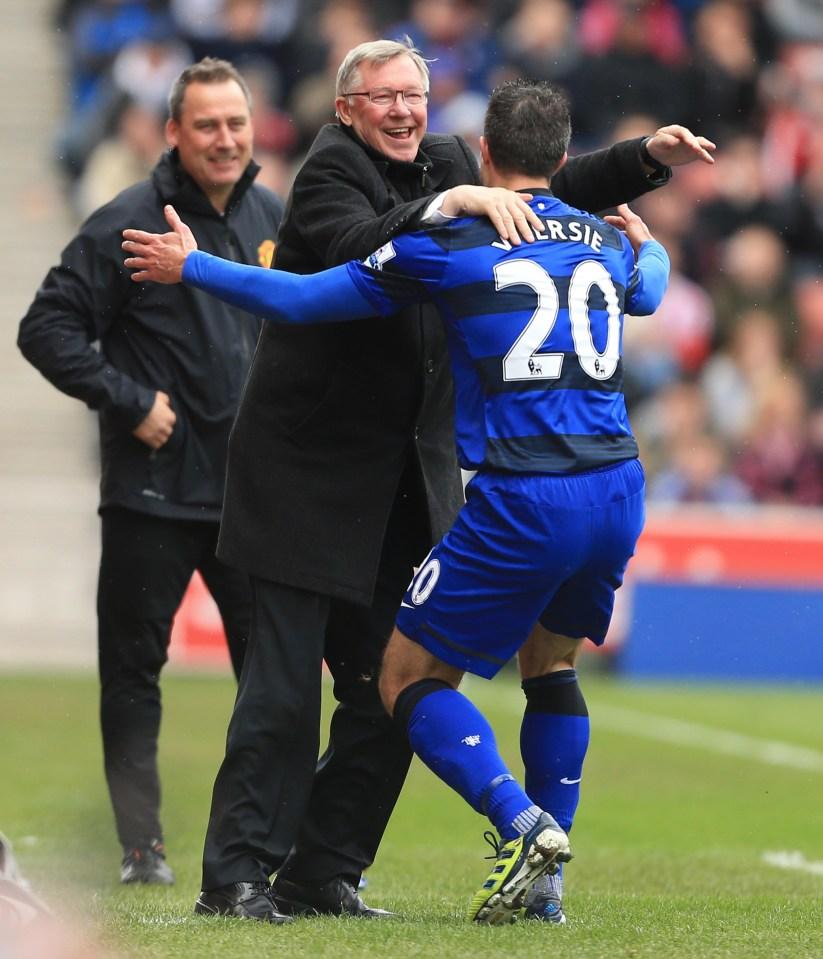 'Wenger sheds a tear'