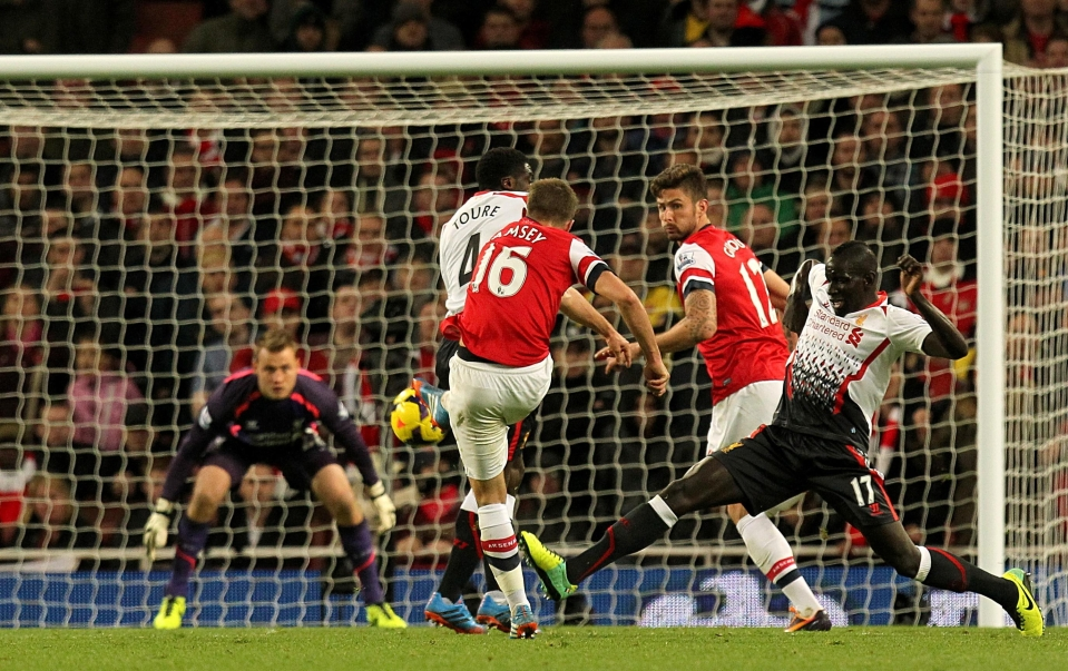 Wallop against Liverpool