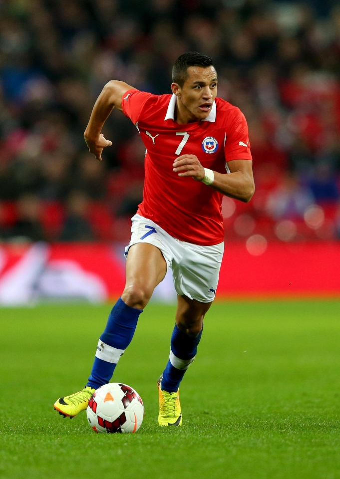 Sanchez has enjoyed Wembley with both club and country