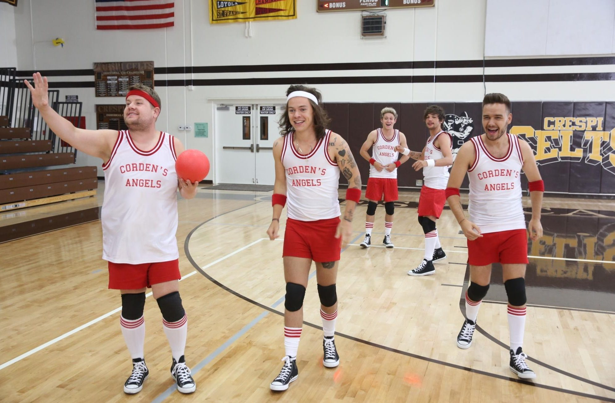The current world champions of dodgeball