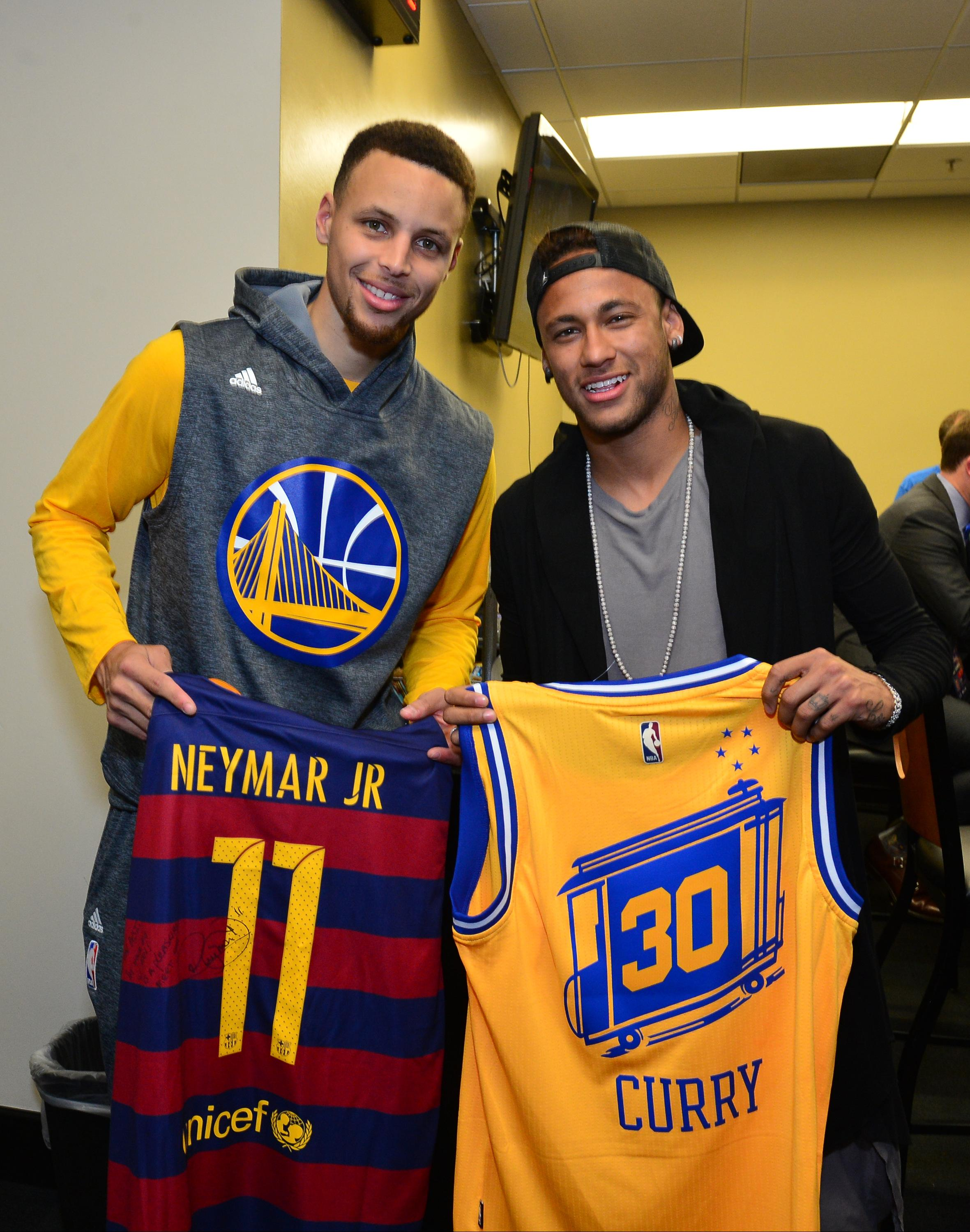 We hate to tell you this, Steph, but that Neymar Barcelona shirt isn't worth much these days