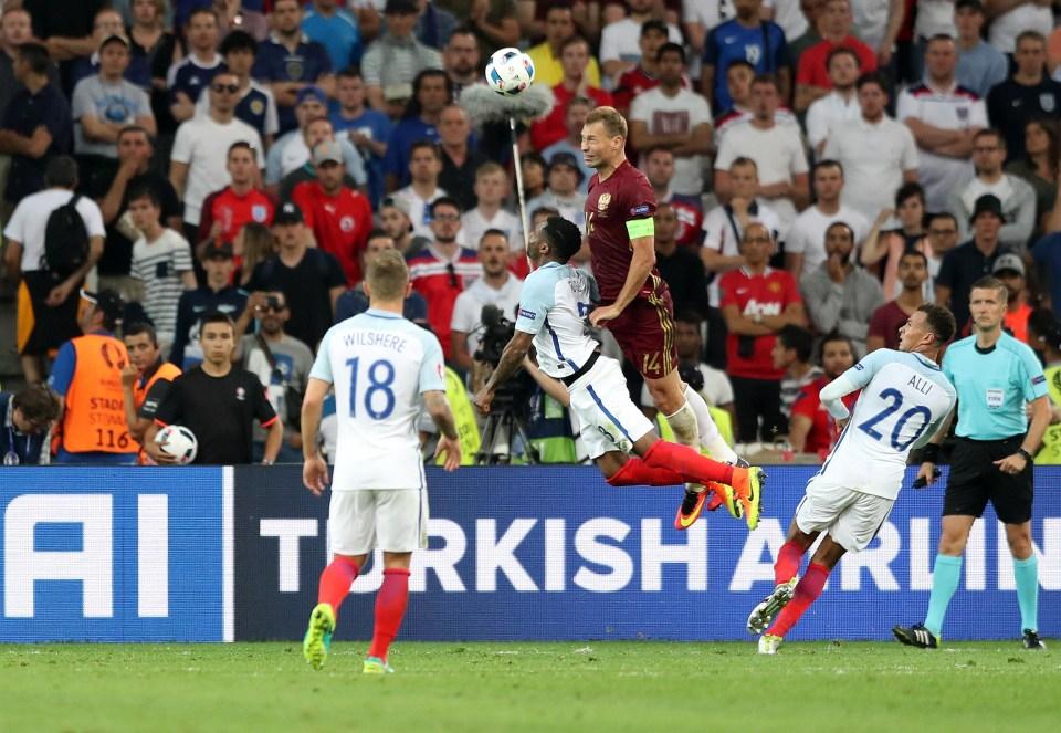 Berezutski has previous against England… Vasili Berezutski that is