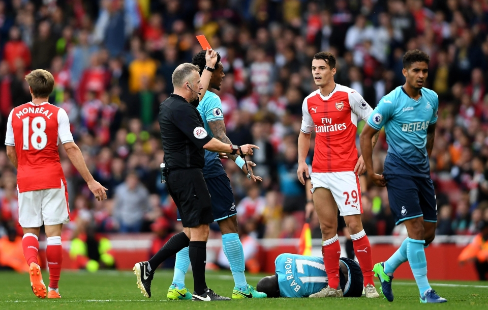 Bloody loves a red card