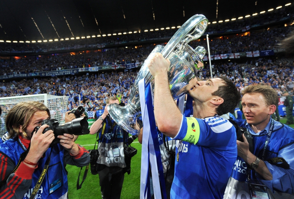 Frank Lampard believes the Spanish Champions League
