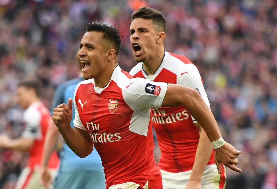 Sanchez scored the winner against Man City this time last year