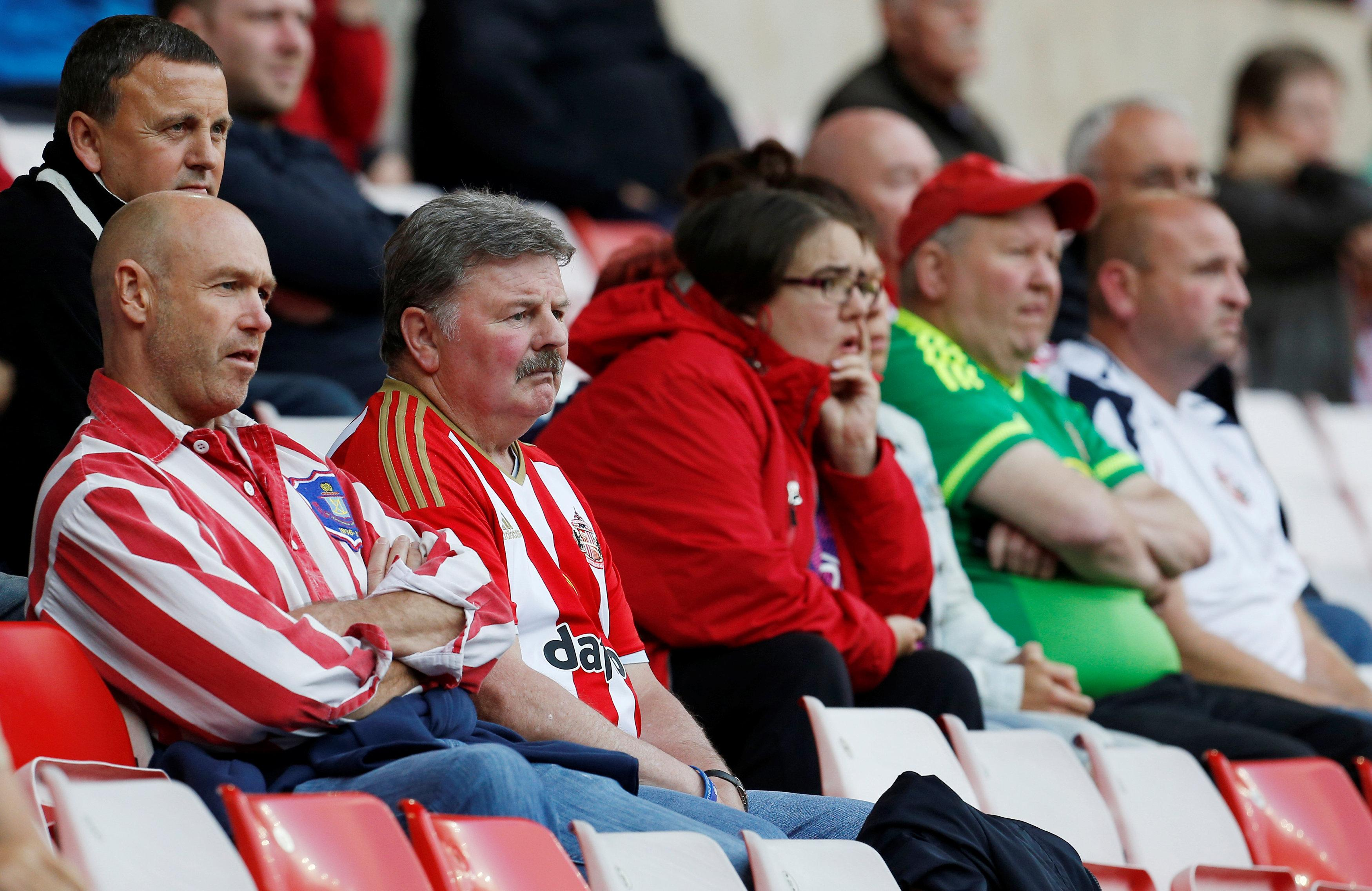 There hasn't been a lot to cheer about for Sunderland fans