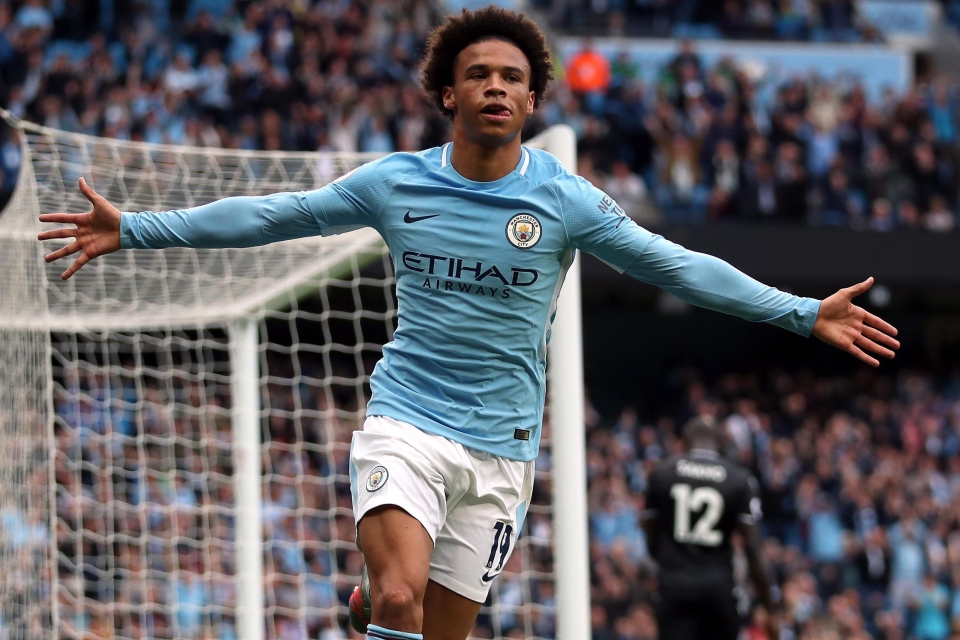 Leroy Sane has been named PFA Young Player of the Year