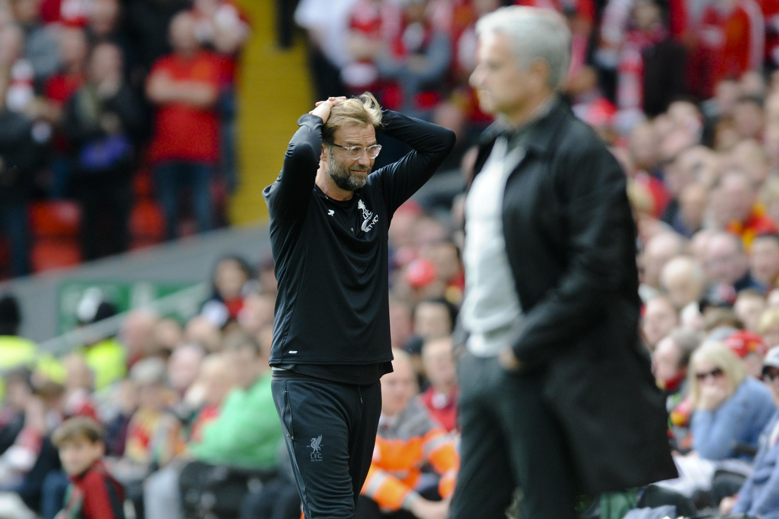Klopp was left frustrated