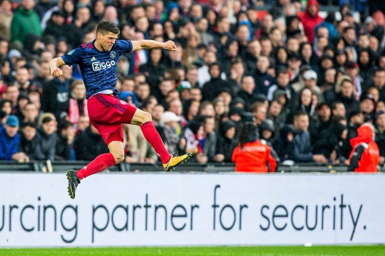 Who knew Klass-Jan could levitate?