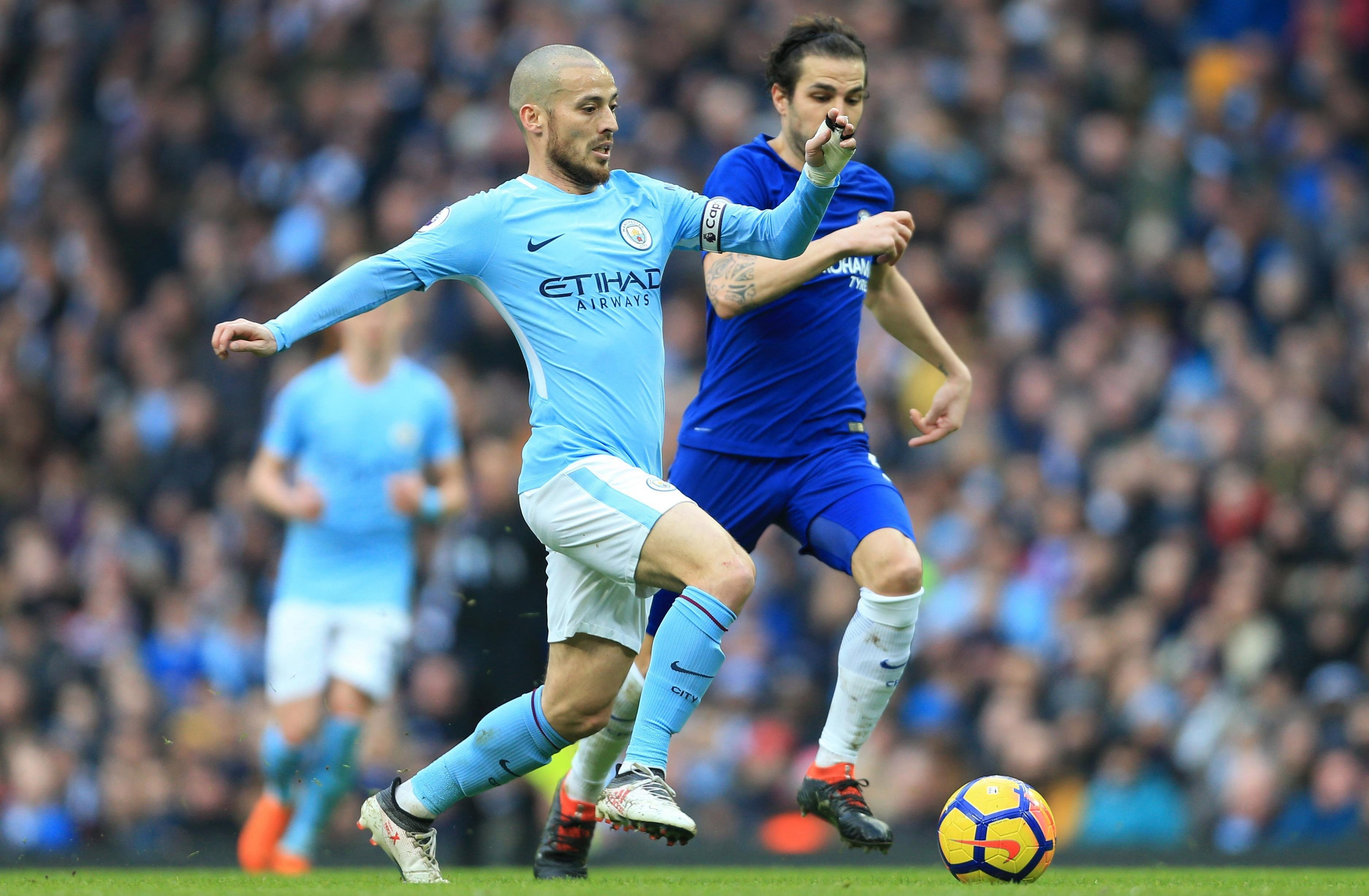 Fabregas should be mentioned in the same breath as countryman David Silva