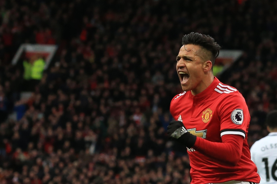 Alexis Sanchez is United's biggest earner on over £500,000-a-week