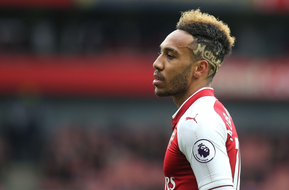Pierre-Emerick Aubameyang won't be too happy about this