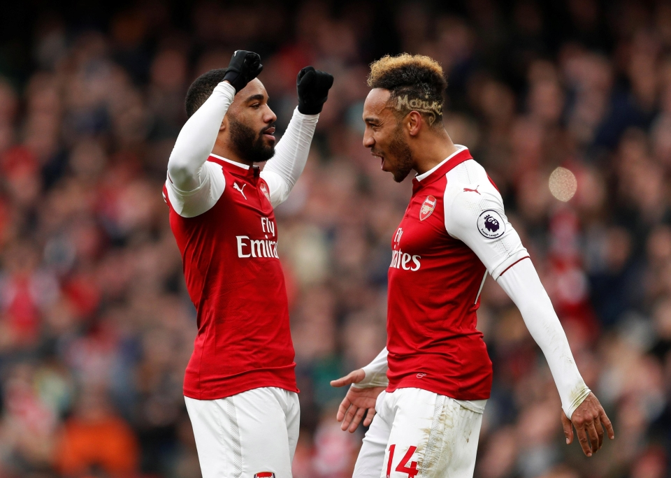 Between them Laca and Auba can cause some serious damage