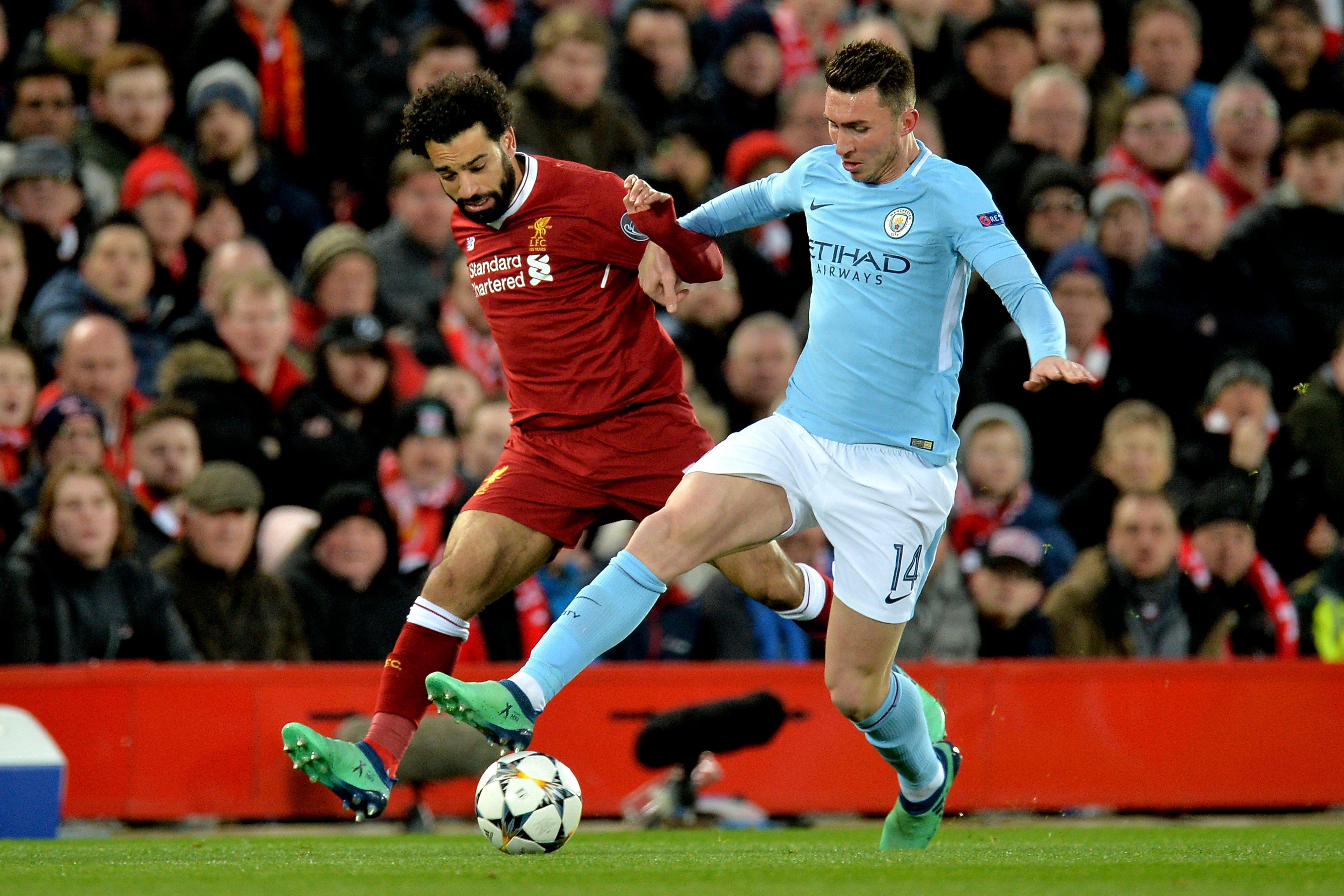 Salah v Laporte was a mismatch