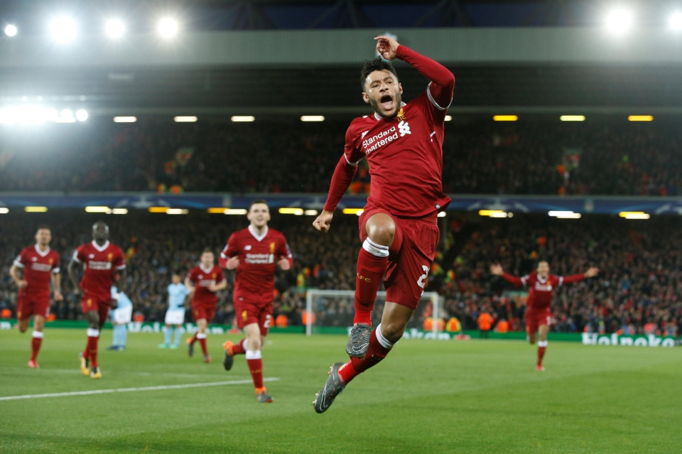Already a famous Anfield night
