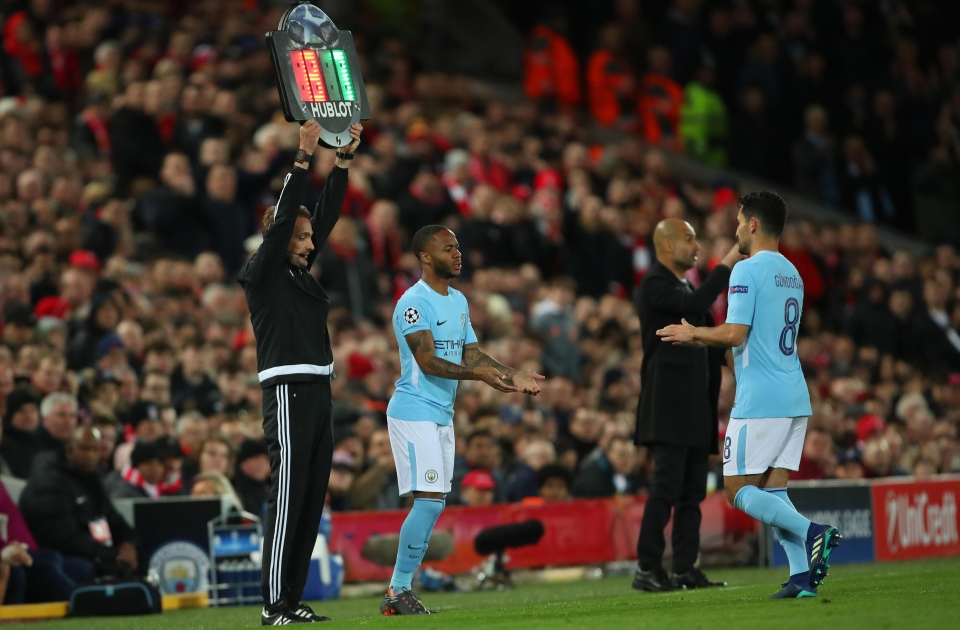 Sterling's introduction raised the roof