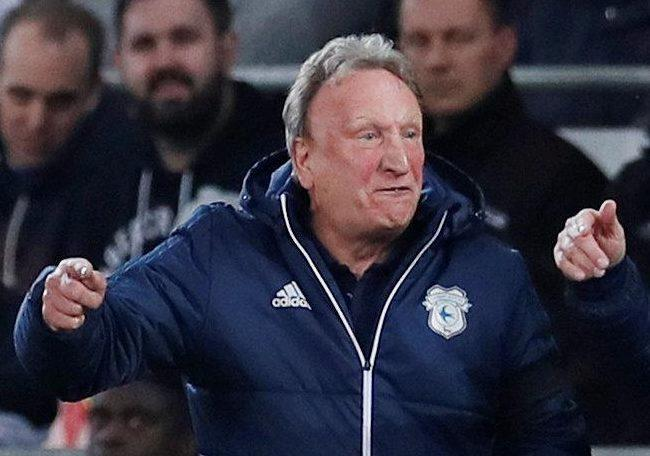 Neil Warnock delivered a foul-mouthed snub to Wolves boss Nuno Espirito Santo as Cardiff slipped to defeat