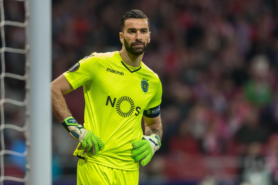 Goalkeeper Rui Patricio is one of the players who's stood up for his teammates