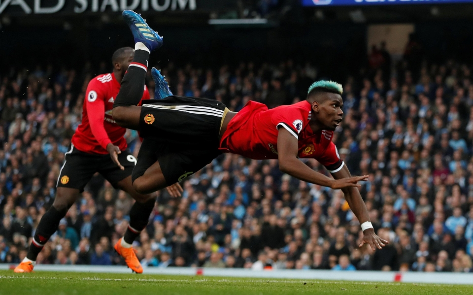 Pogba grabbed United's first of the second-half to spark the comeback