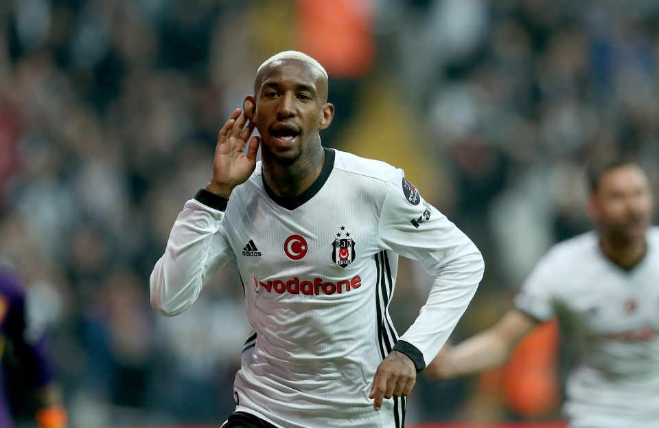 Besiktas are also in the mix