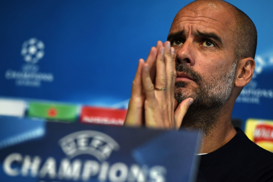 Pep will be praying for a better night tonight