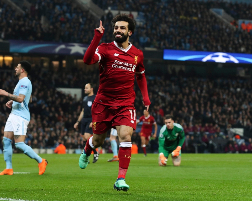 But a goal from Mo Salah made City's task that much more difficult