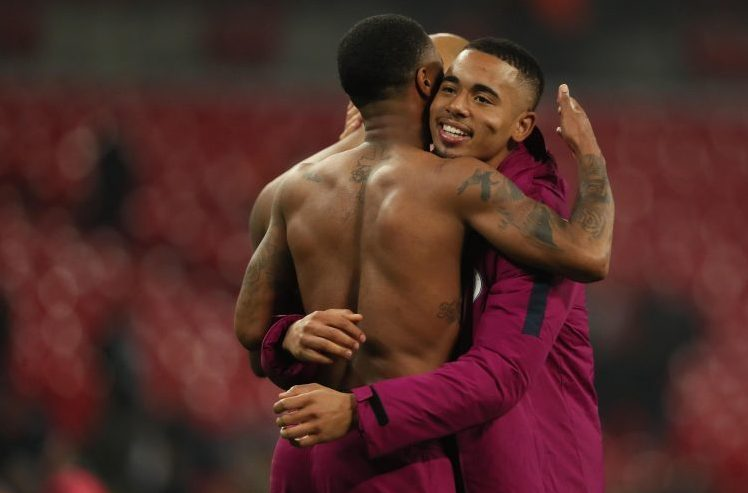 The year is 2023 and Sterling has just set up Jesus for his 200th City goal