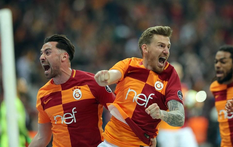 Galatasaray lead the way