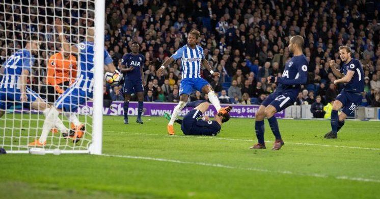 The moment Bruno 'scored'