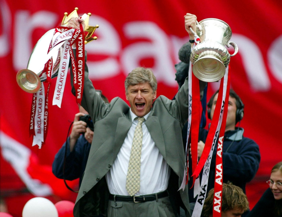 Arsenal have won more FA Cups in 22 years under Wenger than they did in 110 years without him