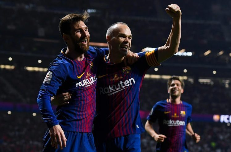 With Messi in this form, they might not miss the man on the right
