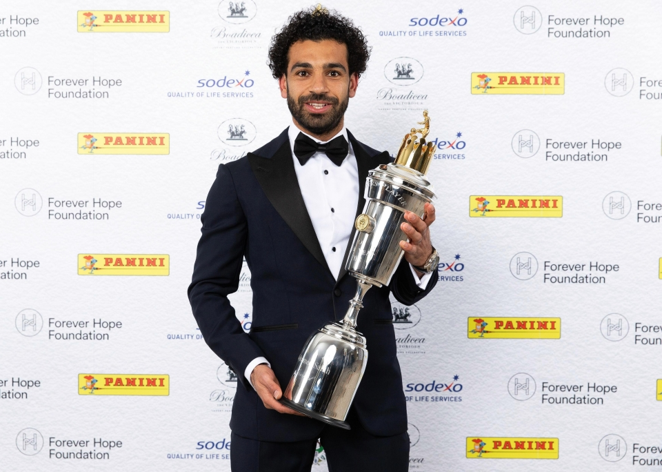 Mo Salah capped off an incredible season by being named the PFA Player of the Year