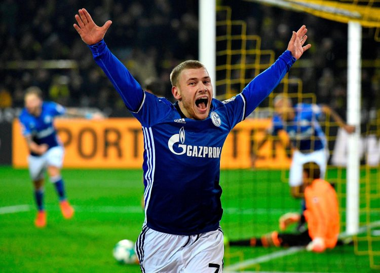 When you manage to leave Schalke on a free