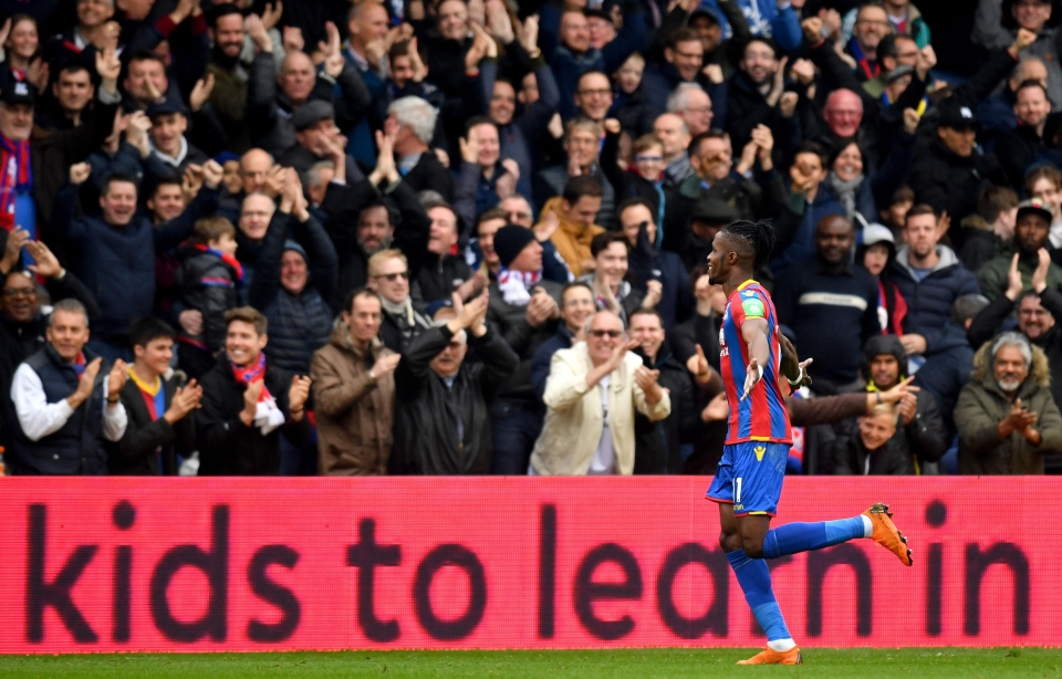 Zaha is adored in south London