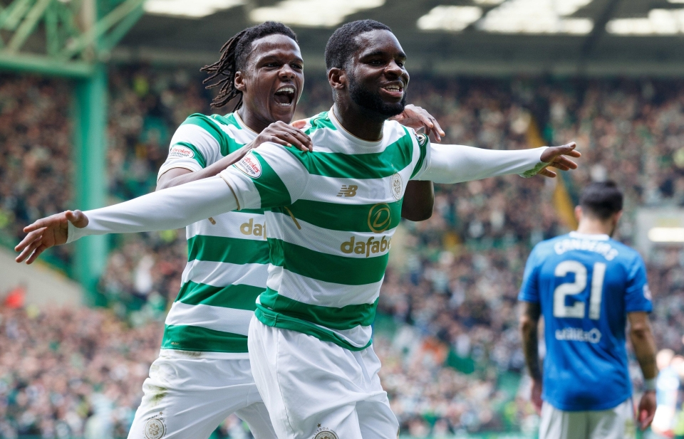 Edouard got the party started