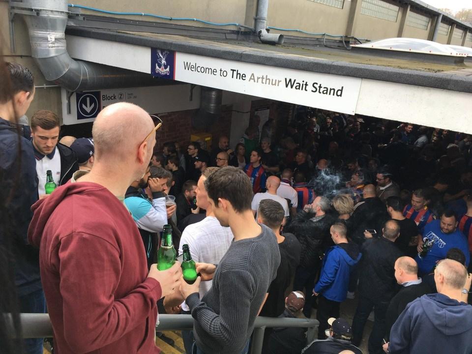 The Arthur Wait Stand