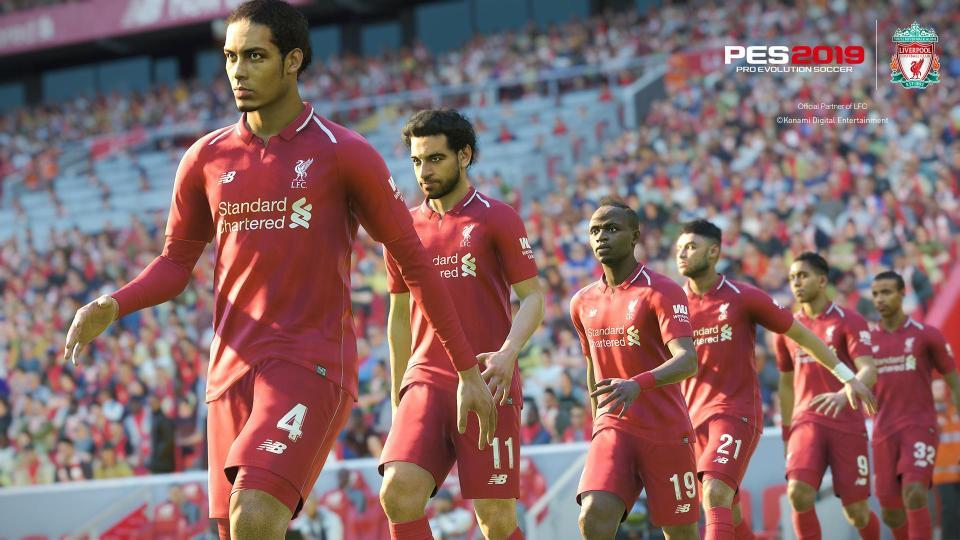 Graphically PES 2019 is much prettier than last year's game – although sadly the game will not feature the Champions League