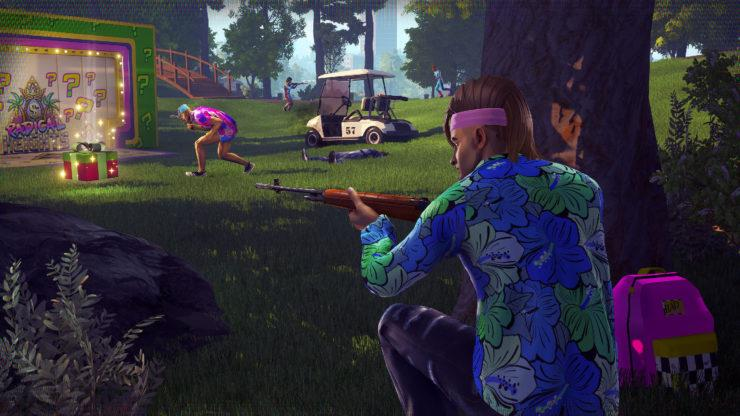 Colourful graphics help Radical Heights stand out