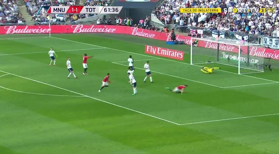 And Lukaku celebrated his accidental assist